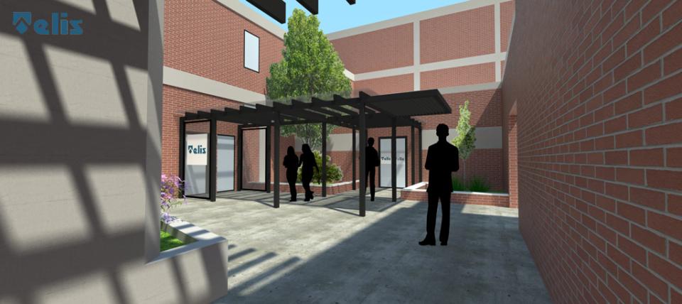 Nuovo ingresso scuola alberghiera SAFI